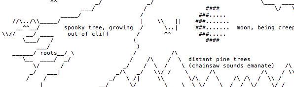 Halloween ASCII Art