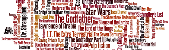 Book and Movie Word Clouds